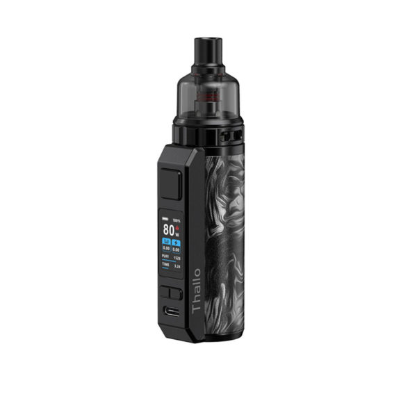 Fluid Black Grey version of the SMOK Thallo Pod Mod