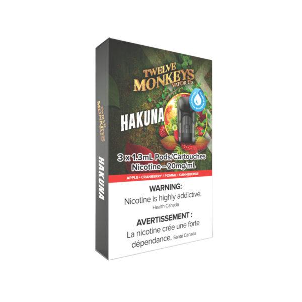 12 Monkeys Hakuna NIKKI Pods