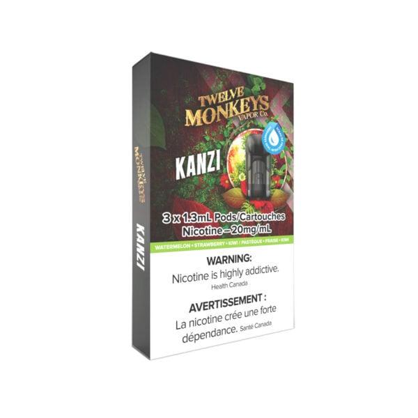 12 Monkeys Kanzi NIKKI Pods