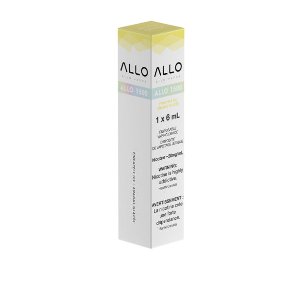 Pineapple Ice ALLO 1500 single pack