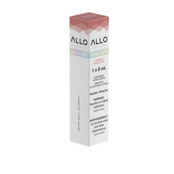 Lychee Ice ALLO 1500 single pack