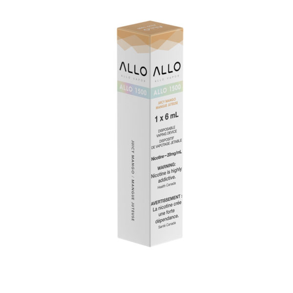 Juicy Mango ALLO 1500 single pack