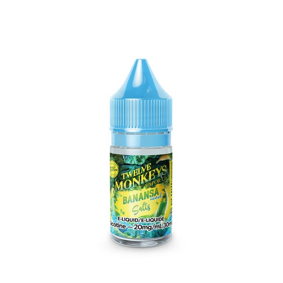 Banansa Iced SALT Twelve Monkeys E-Liquid 30mL