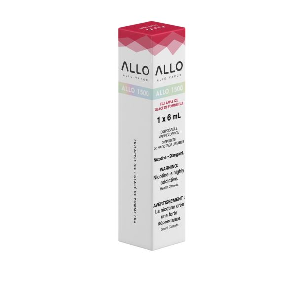 Fuji Apple Ice ALLO 1500 Single Pack