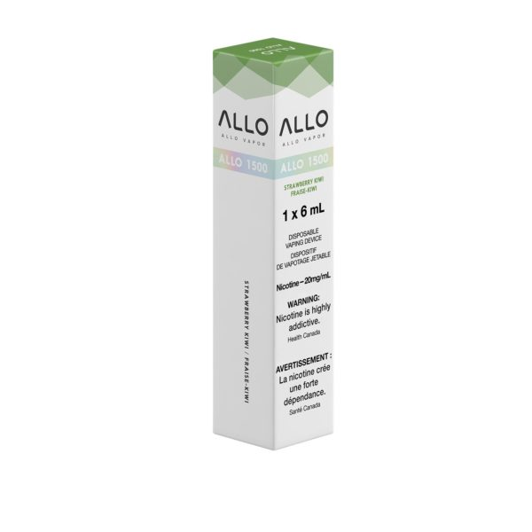 Strawberry Kiwi ALLO 1500 Single Pack