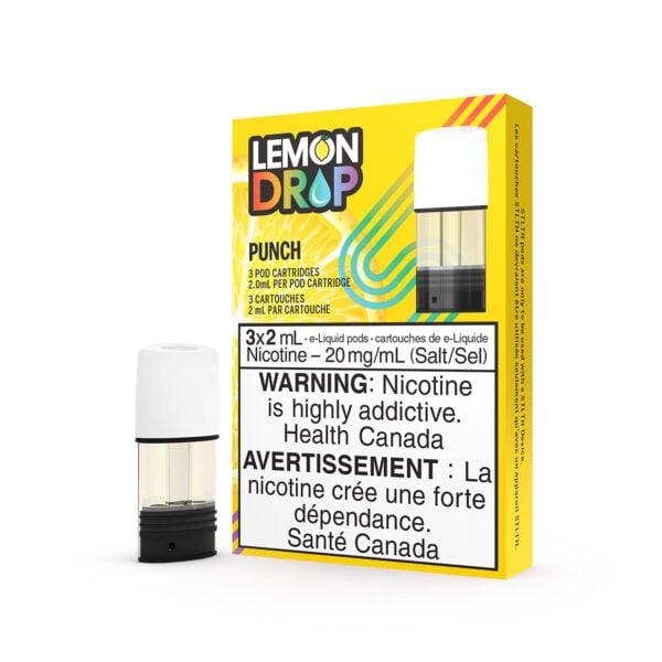 Lemon Drop Punch STLTH Pods