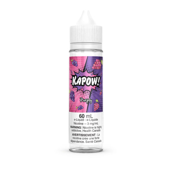 Purply Kapow E-Liquid 60mL