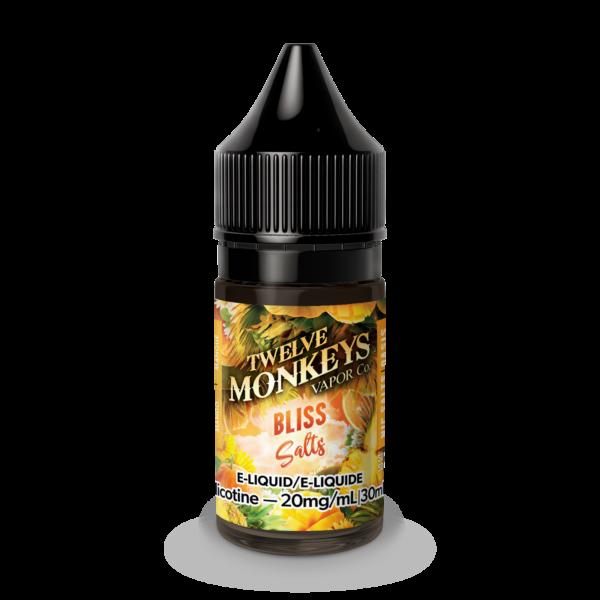 Bliss SALT Twelve Monkeys E-Liquid
