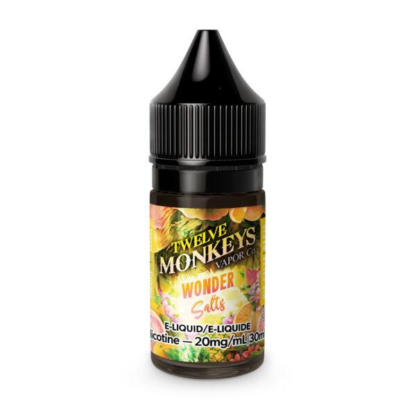 Wonder Oasis SALT Twelve Monkeys E-Liquid
